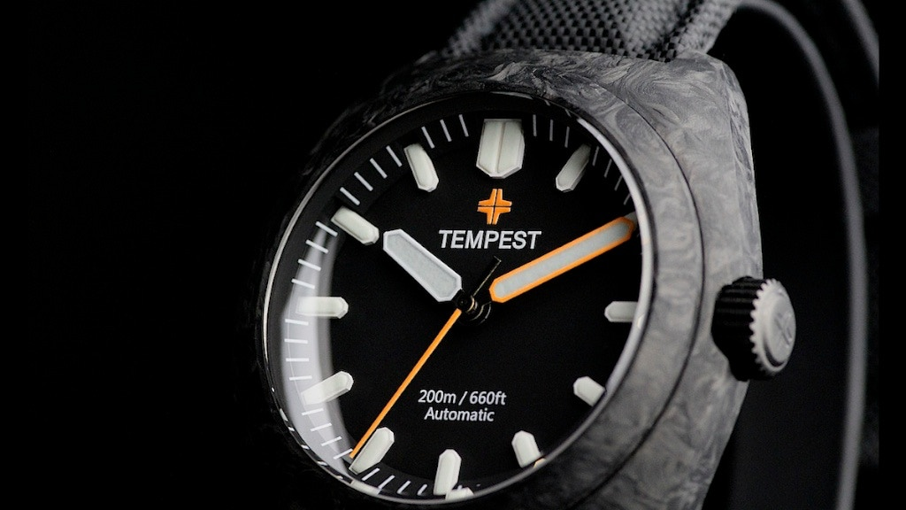 Tempest Watches-The first Affordable Forged Carbon Timepiece project video thumbnail
