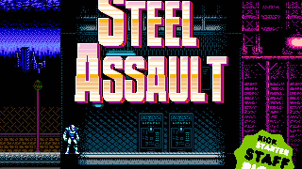 Steel Assault project video thumbnail
