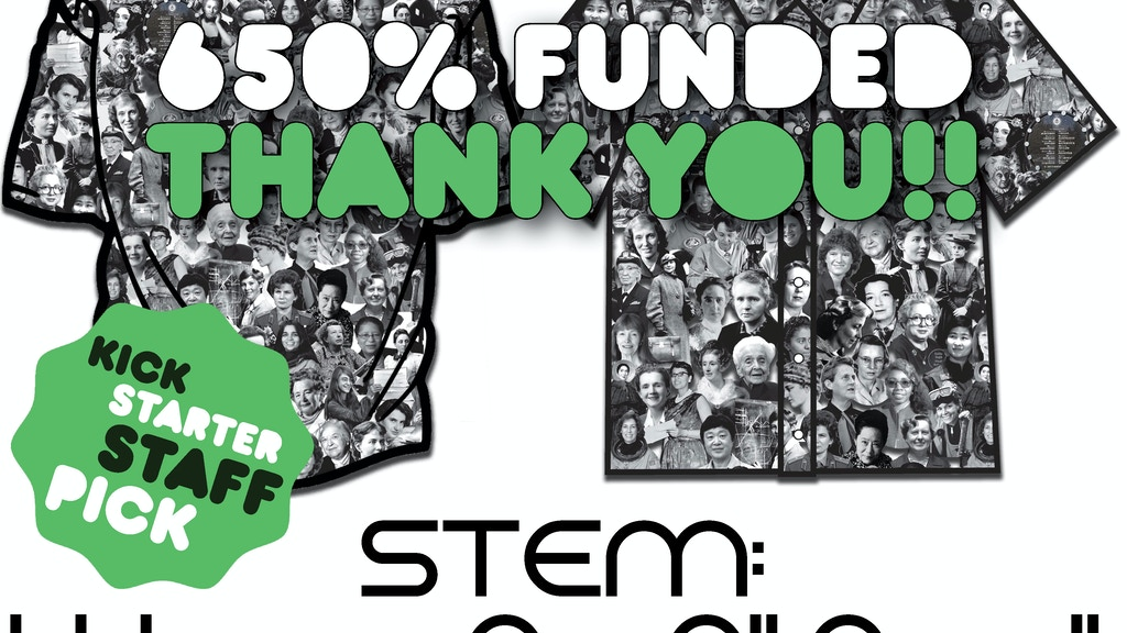 """STEM: Women Are All Over It"" - #ThatOtherShirt project video thumbnail"