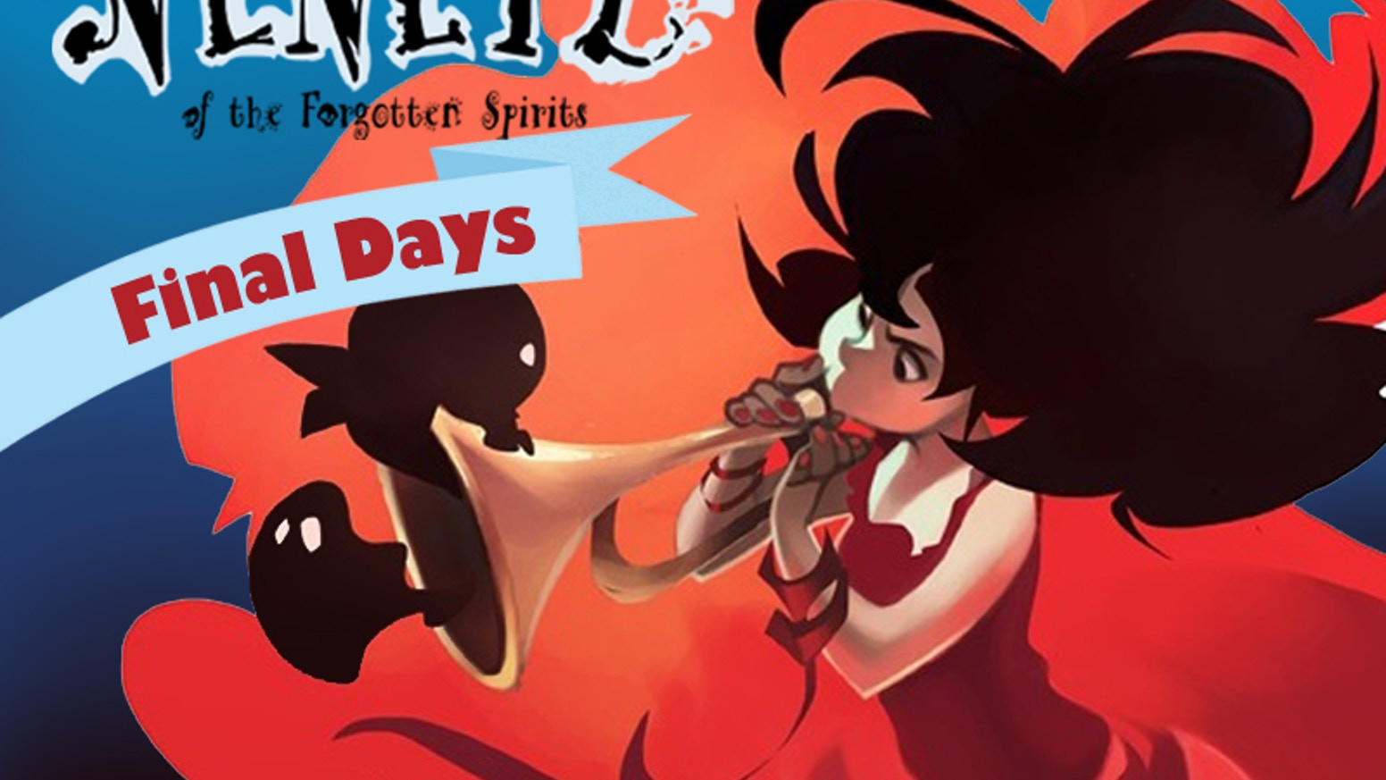 Support NENETL, a spirited horror comic about a ghost searching for her family & dodging exorcists during the Day of the Dead festival.