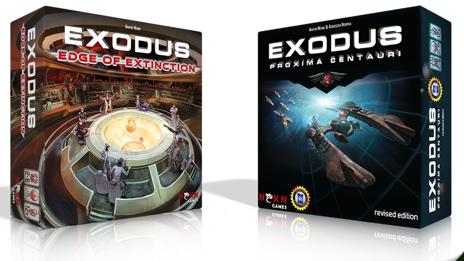 Exodus returns with an epic expansion. Research new technologies, expand your fleets and bring your enemies to the Edge of Extinction.