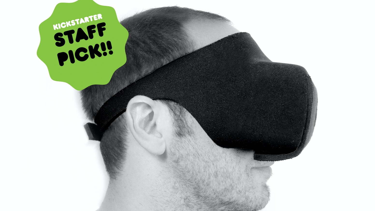 "A foldable ""Virtual Reality"" headset for smartphones up to 90x170mm (3.5x6.7 inches) made out of neoprene."