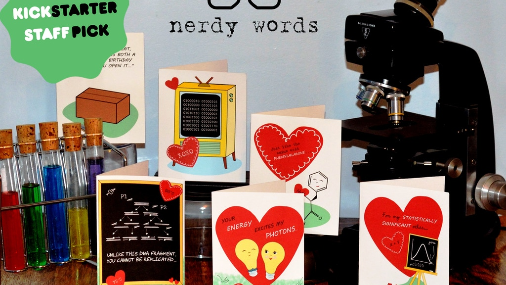 Valentine's Day Greeting Cards For That Geeky Science Lover project video thumbnail