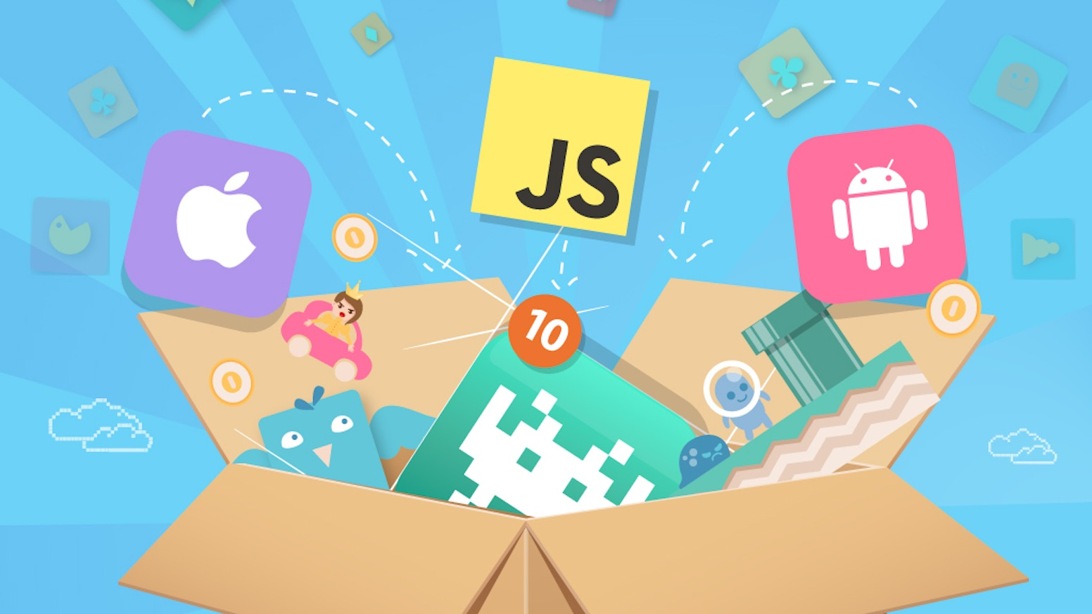 Hands-on online course to learn iOS and Android Game Development from total scratch! Learn JavaScript, HTML5, Phaser and Cordova.