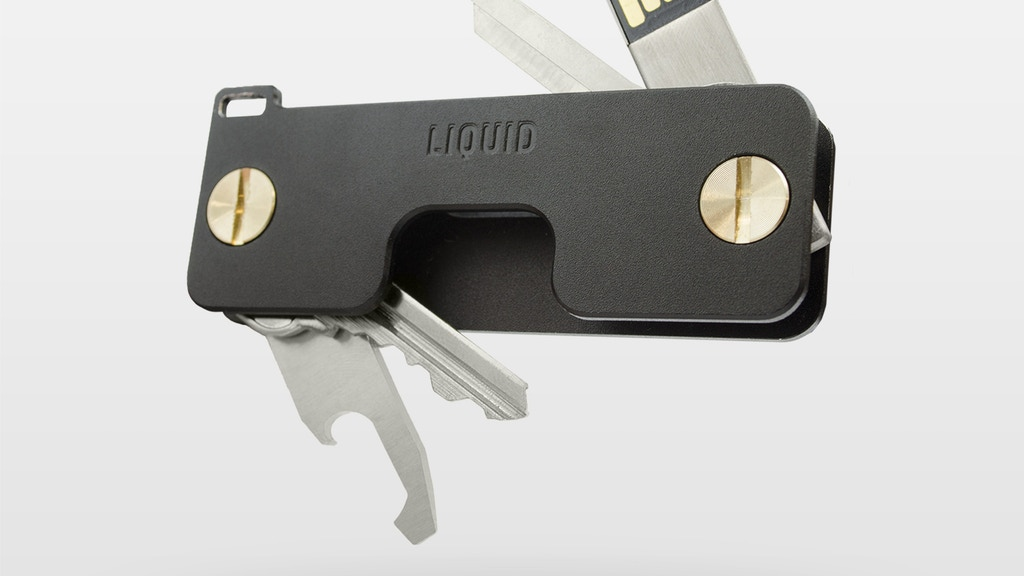 Key Caddy - EDC Key Holder and Accessories by Liquid Co. project video thumbnail