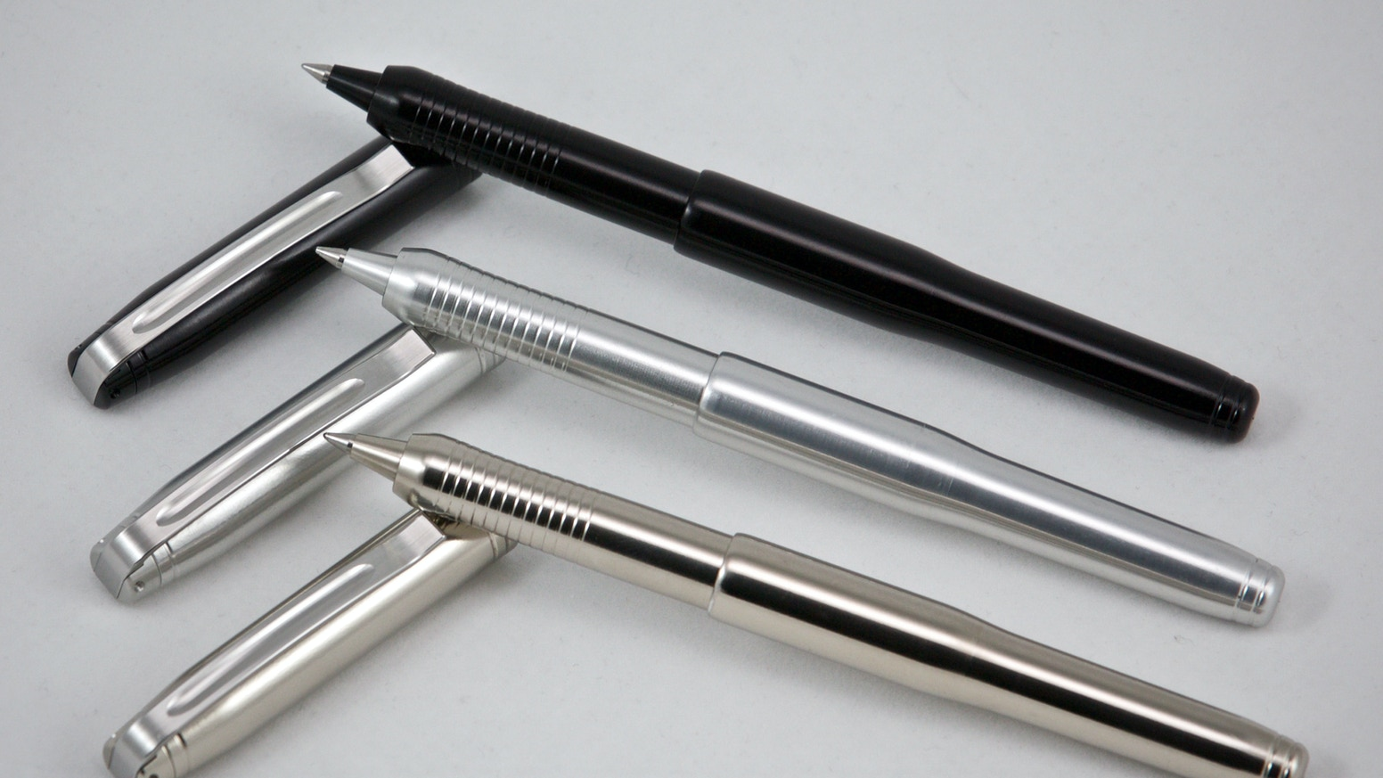 A meticulously engineered pen for those who appreciate finely machined components and superior quality without compromise