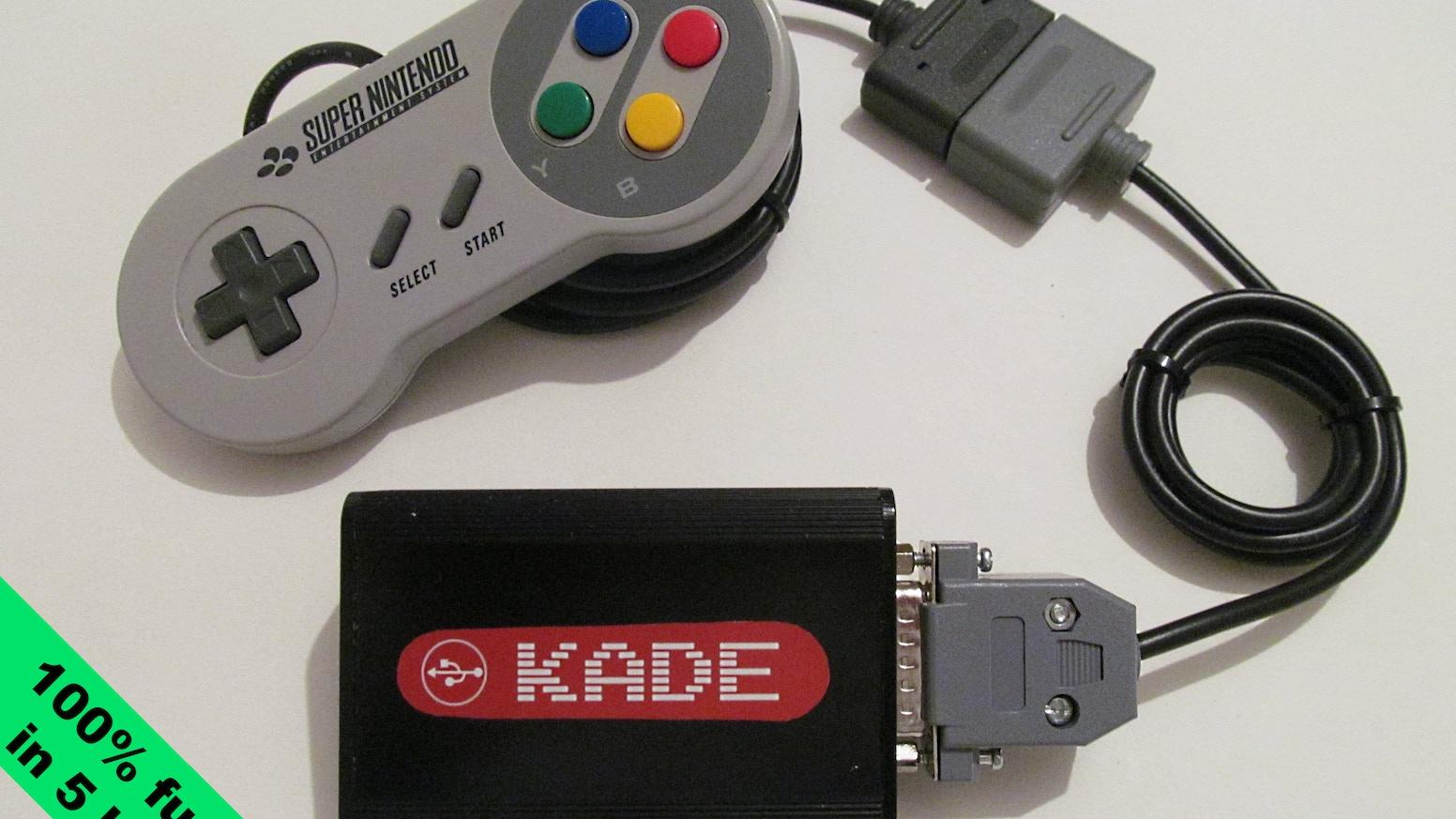 Kade Miniconsole A Smart Open Source Retro Gaming Device By Jon Crossover Cable Wiring Diagram For Xbox Wilson Kevin Mackett Bruno Freitas Kickstarter