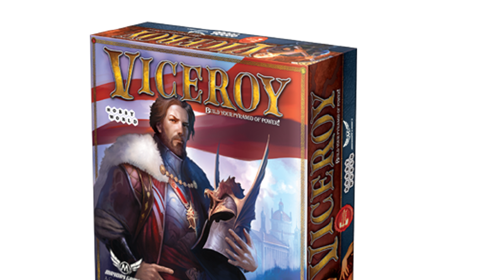 """Viceroy"" Fantasy Pyramid Card/Board Game 1-4 Players 45 Min project video thumbnail"