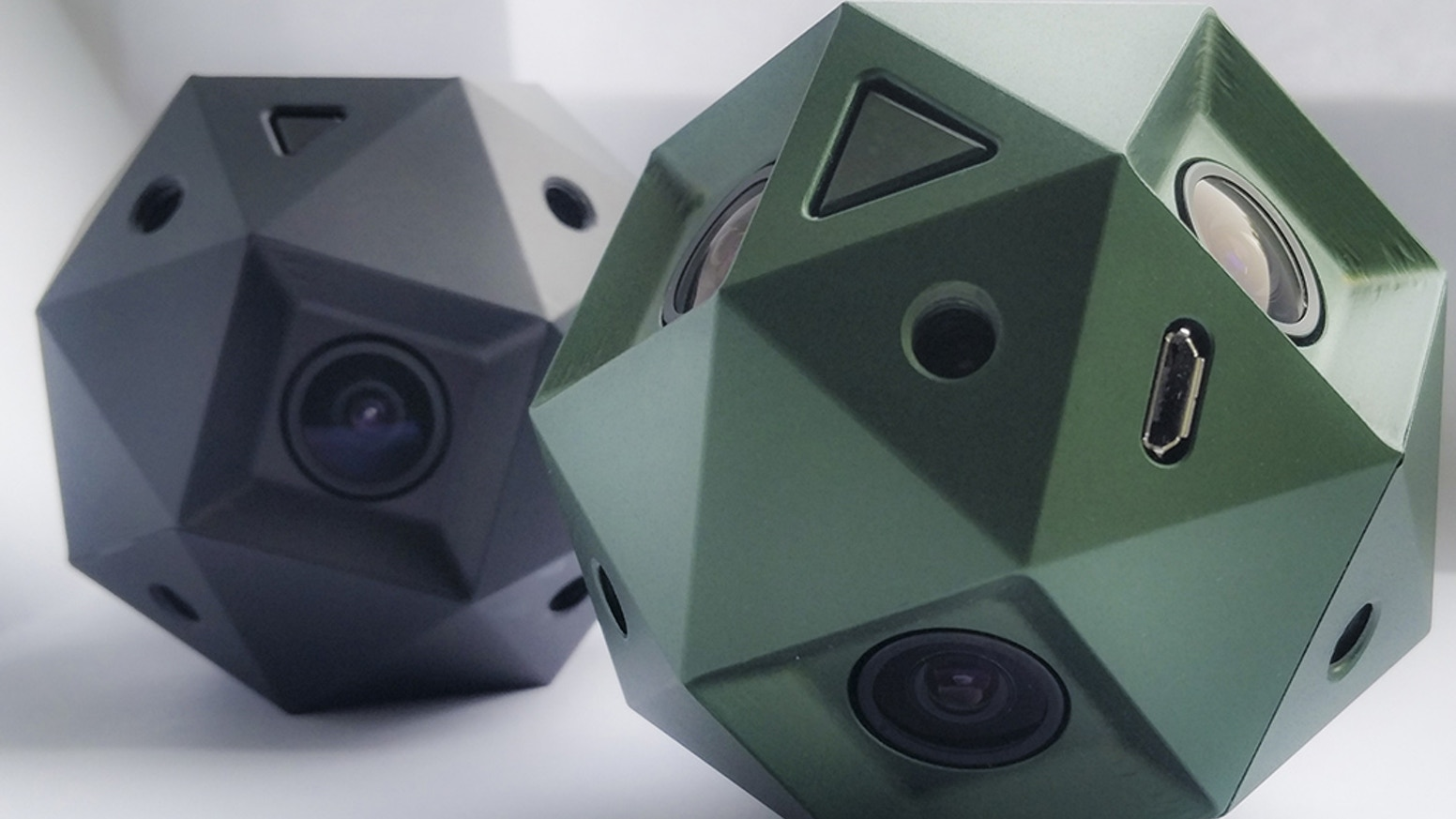 The perfect 360º camera for Oculus Rift / Google Cardboard. First ever to offer GLOBAL SHUTTER at 60FPS and 4K, 100% spherical capture.