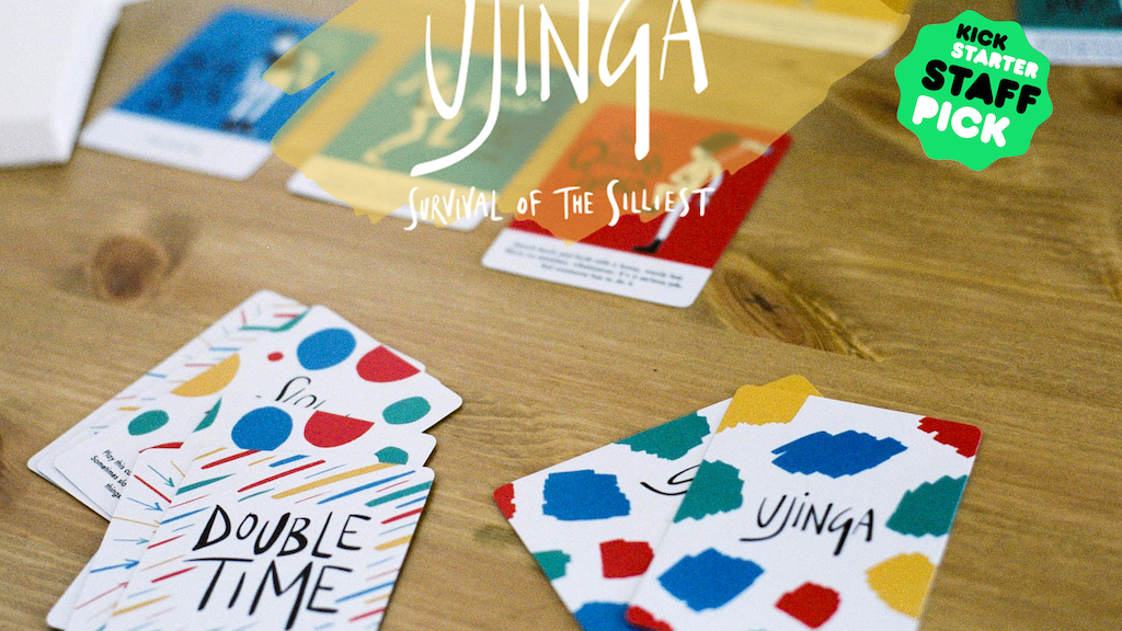 Ujinga: Survival of the Silliest (an activity card game) project video thumbnail