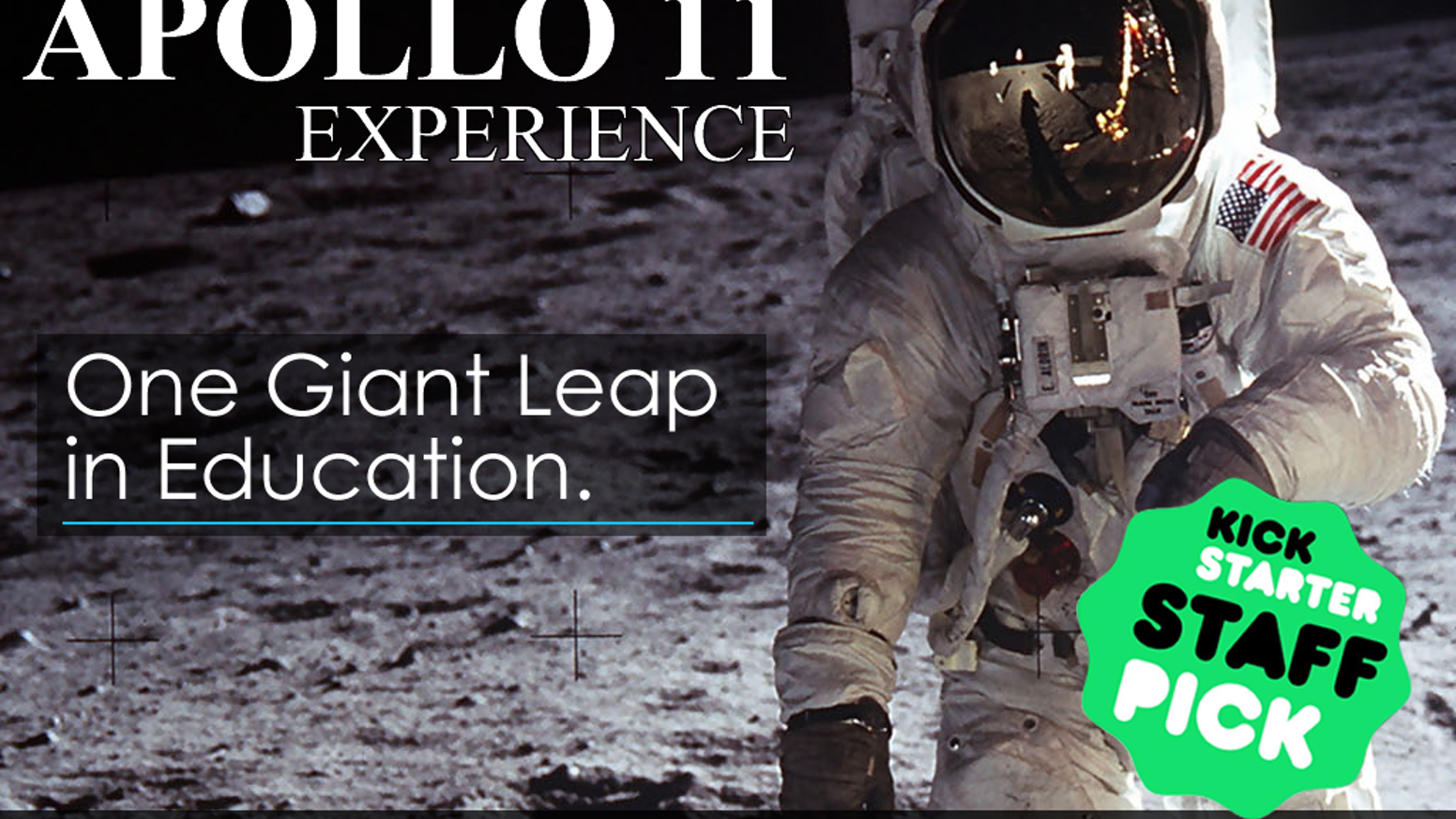 Using Virtual Reality you will become Neil Armstrong on what is the 20th century's most enduring achievement.