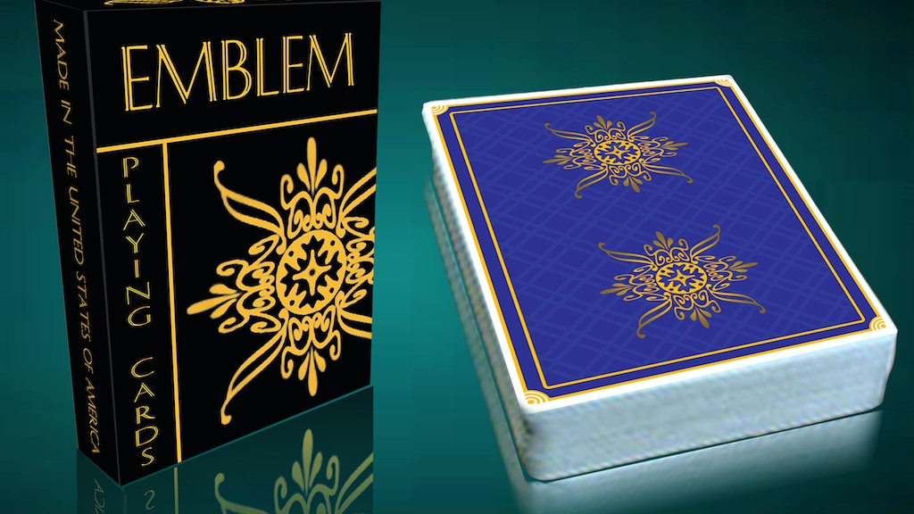 Project image for Emblem Playing Cards//Printed By The USPCC