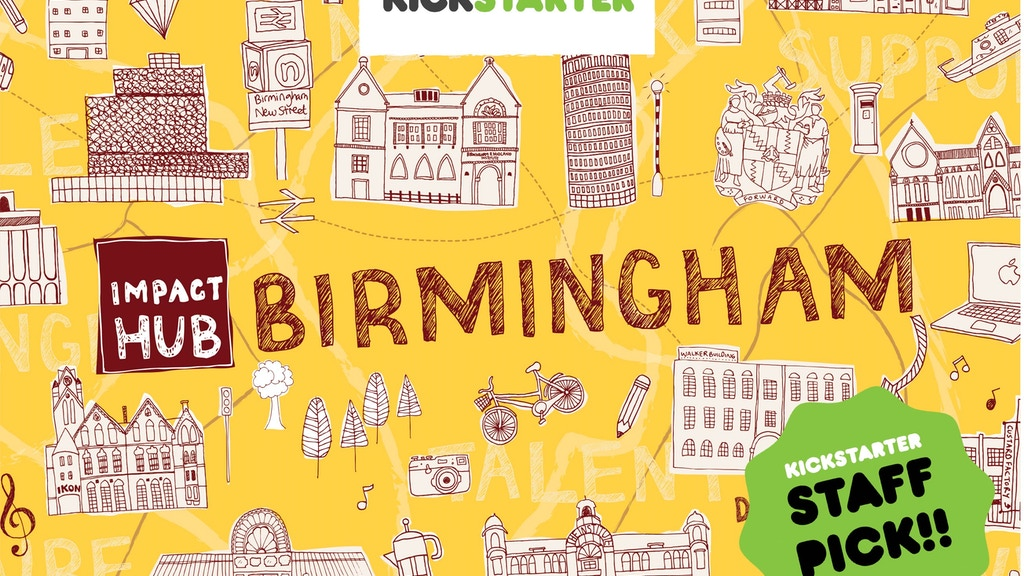 Epic Brum - Making Impact Hub Birmingham a Reality. project video thumbnail