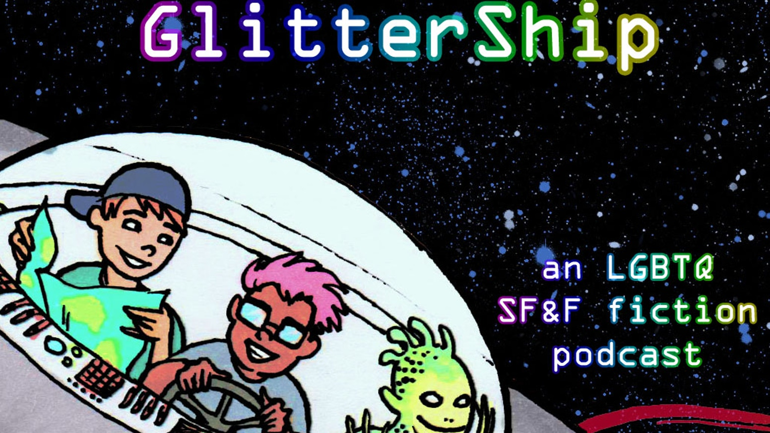 Help me start a queer science fiction & fantasy short fiction podcast!