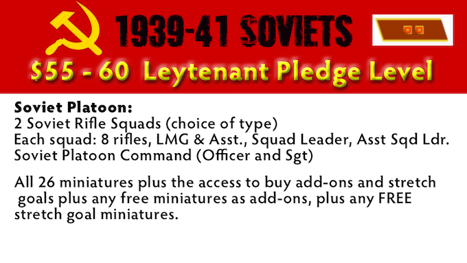 Leytenant Pledge Level