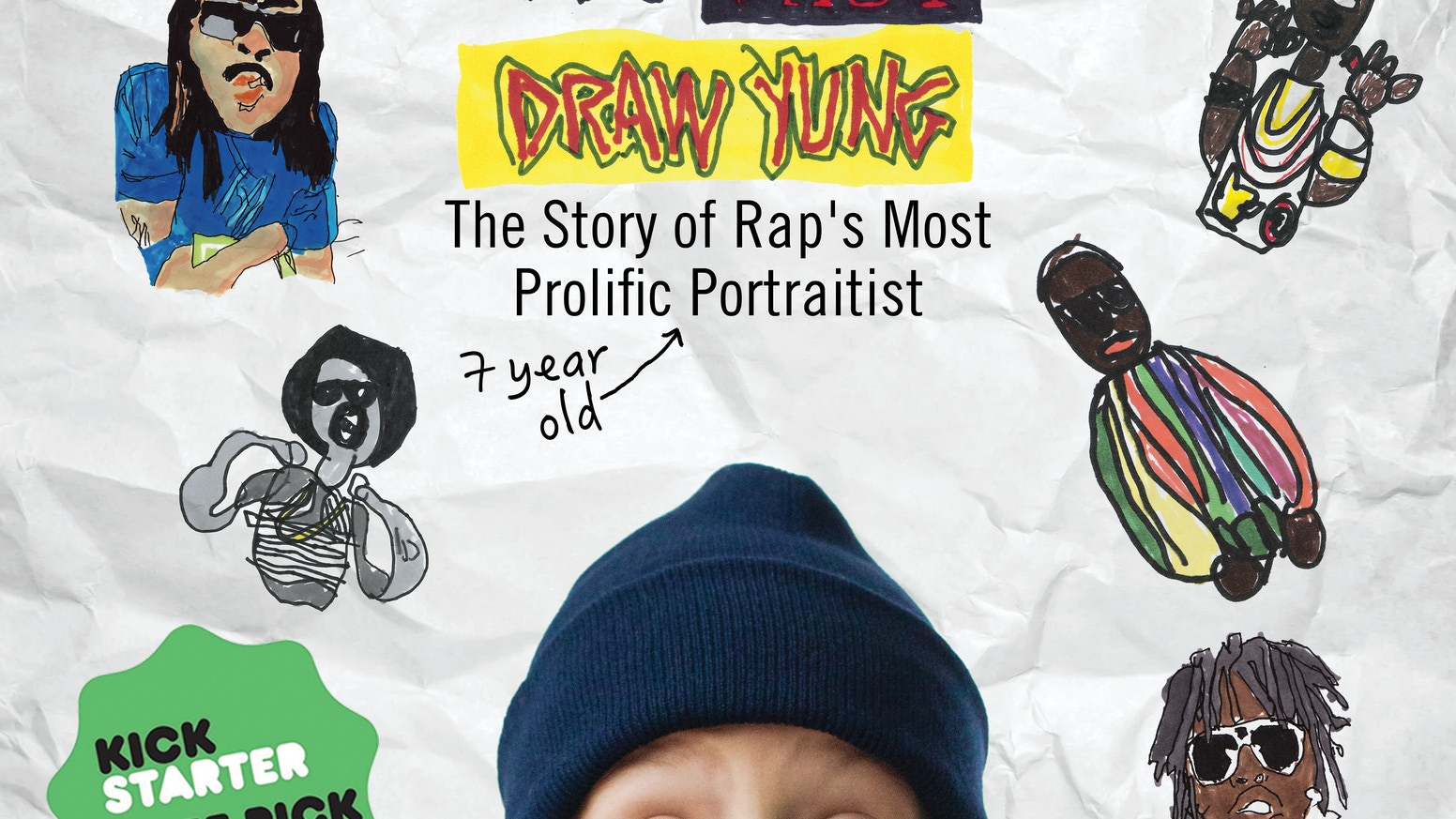 """A hilariously endearing film that celebrates the life & times of 7-year-old Yung Lenox, LA Weekly's """"Foremost Doodler of Rap""""."""