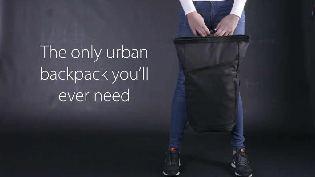 Invisible Backpack: everyday urban backpack project video thumbnail