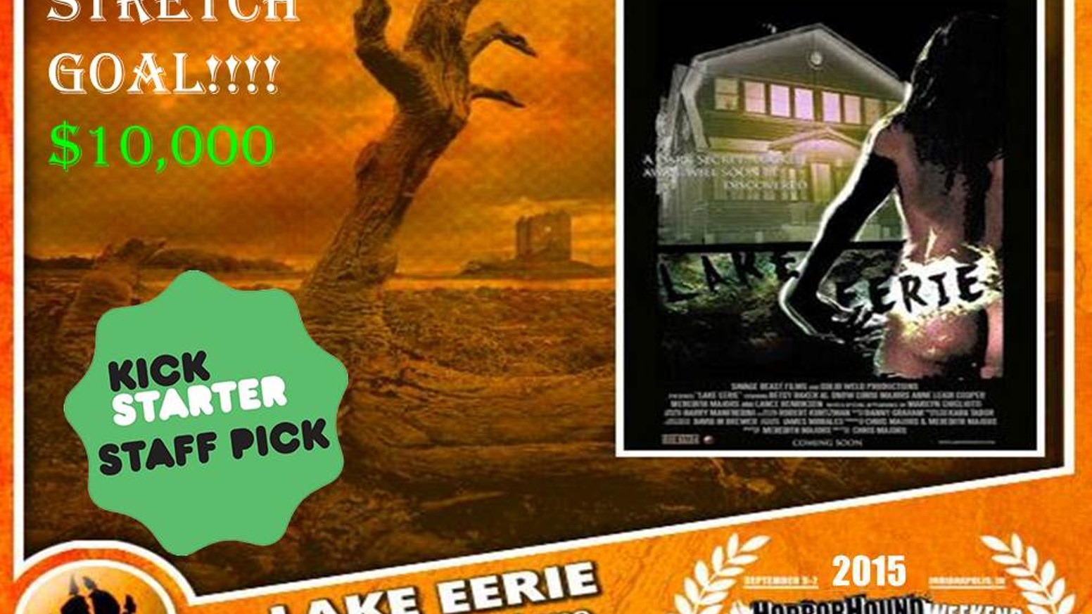 Horror/Thriller Feature Film, Starring Lance Henriksen (Aliens), Betsy Baker (Evil Dead), Marilyn Ghigliotti (Clerks), & Al Snow (WWE).