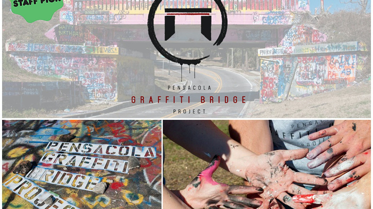 I photographed Pensacola's Graffiti Bridge for 365 days. Check out my book~