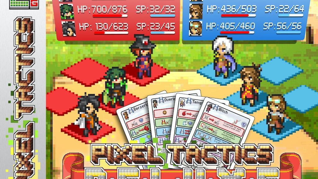 ~✩☆ Pixel Tactics DELUXE! ☆✩~ project video thumbnail