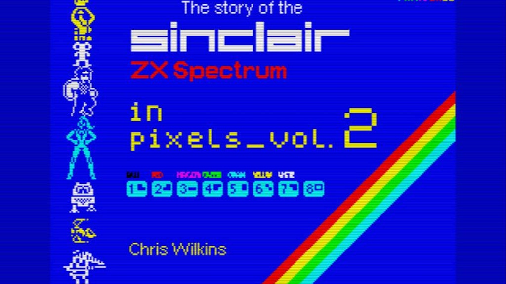 The Story of the ZX Spectrum in Pixels Volume 2 project video thumbnail