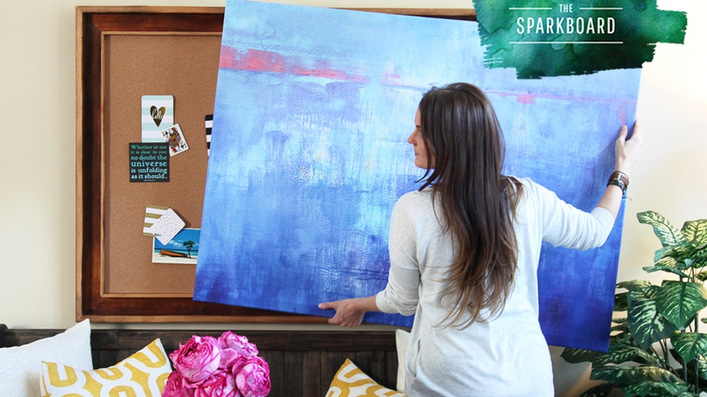 The Sparkboard: Framed Creative Workspace + Modern Art Cover project video thumbnail