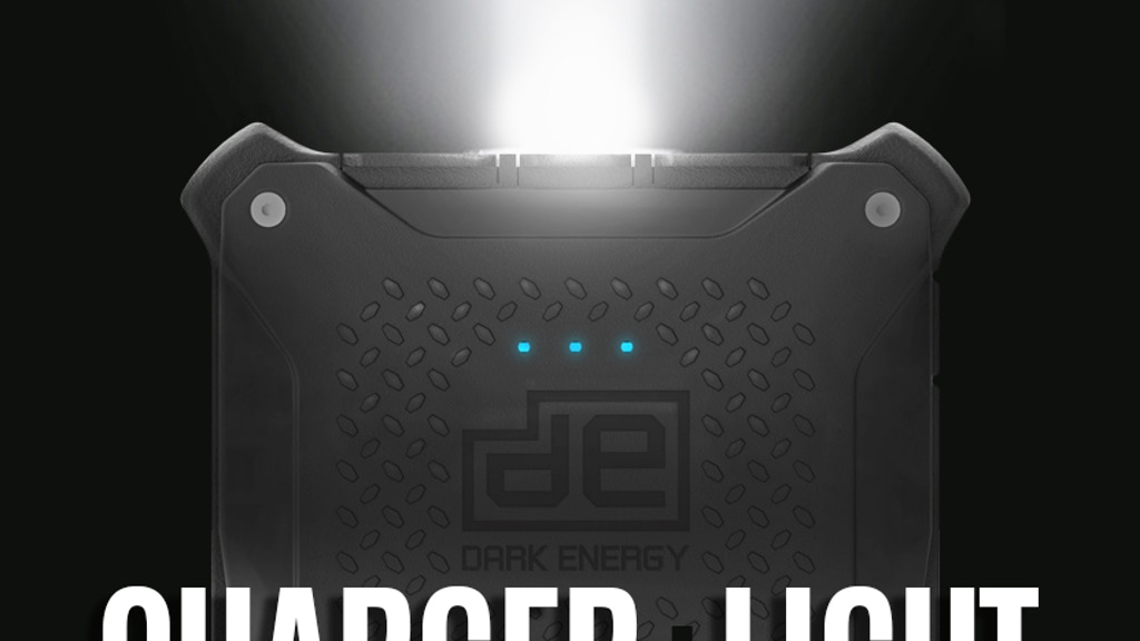 Poseidon: The Rugged & Waterproof Portable Charger and Light project video thumbnail