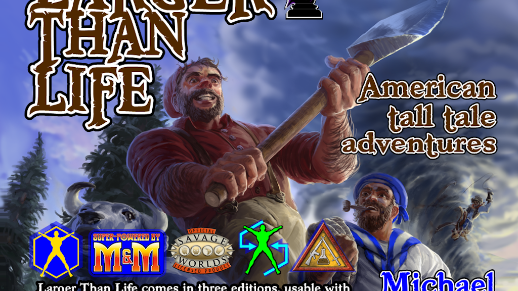 Larger Than Life: Tall Tale Adventures project video thumbnail