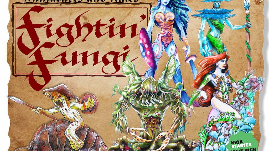 Fightin' Fungi 28mm Fantasy Miniatures project video thumbnail