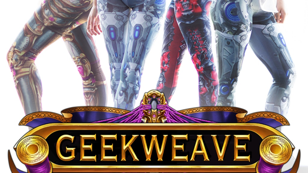 GEEKWEAVE CLOTHING - Video Game Inspired Leggings project video thumbnail