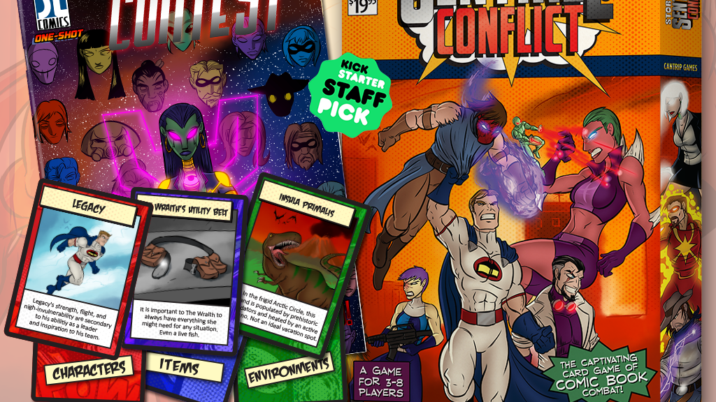 "Project image for Story War: Sentinel Conflict & ""Cosmic Contest"" Comic Book"