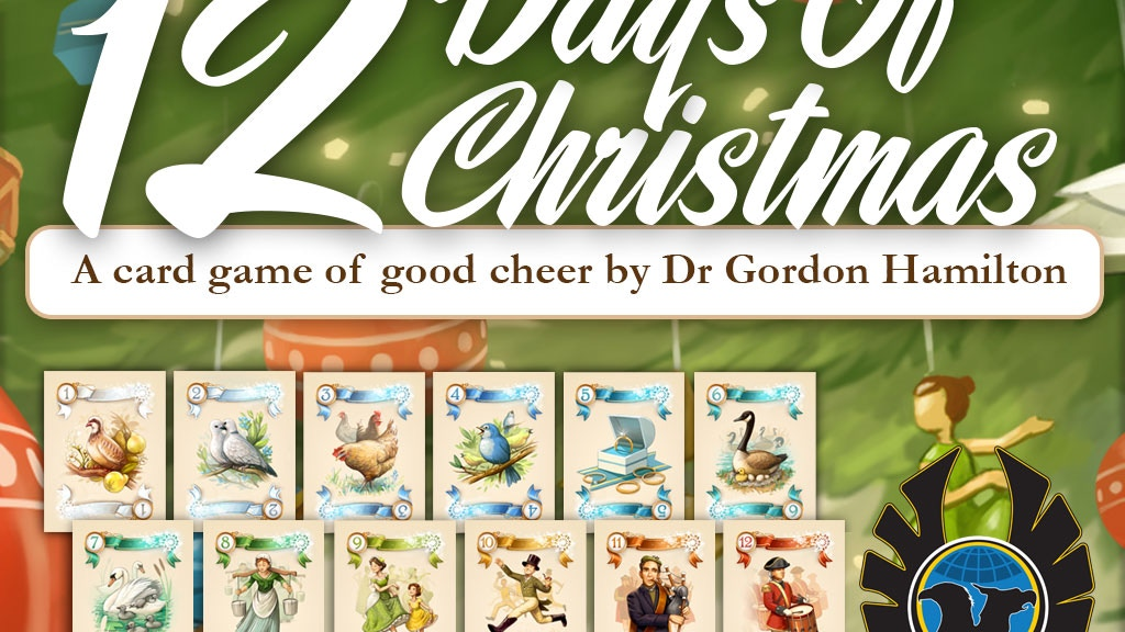 Have a Merry 12 Days of Christmas--from Eagle-Gryphon Games! project video thumbnail