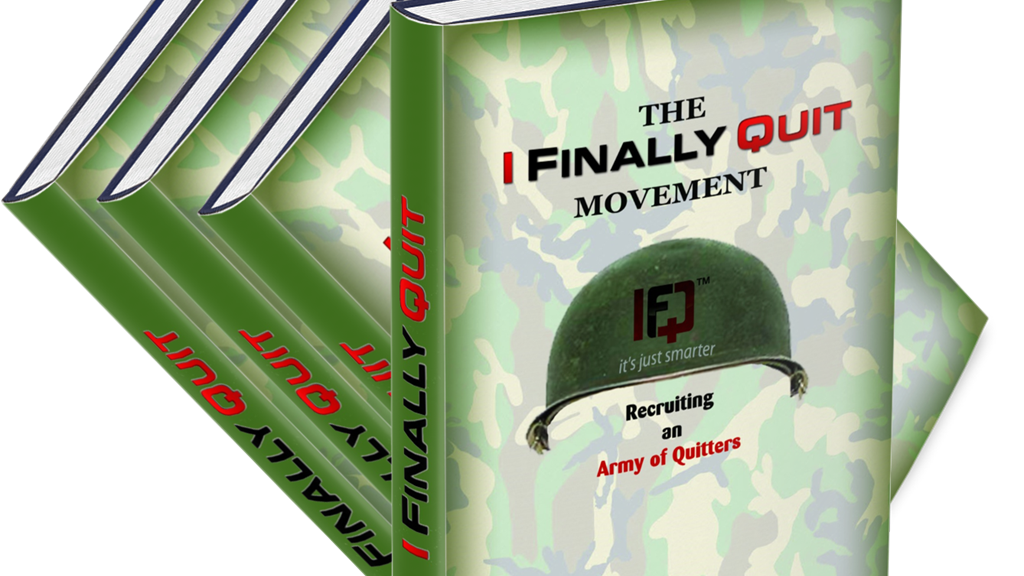 """I Finally Quit - """"Recruiting an Army of Quitters"""" Book project video thumbnail"""