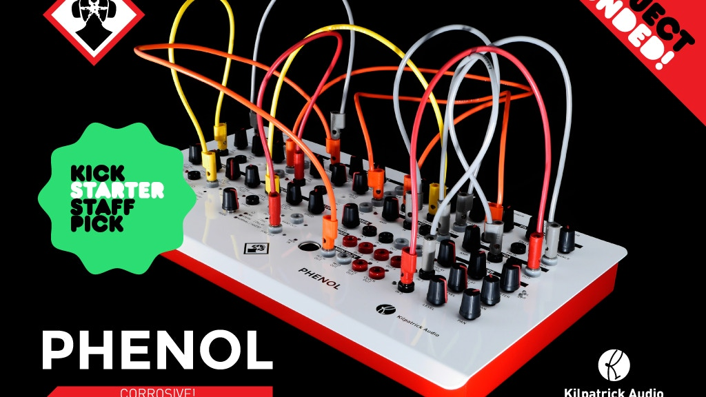 PHENOL Patchable Analog Synthesizer project video thumbnail