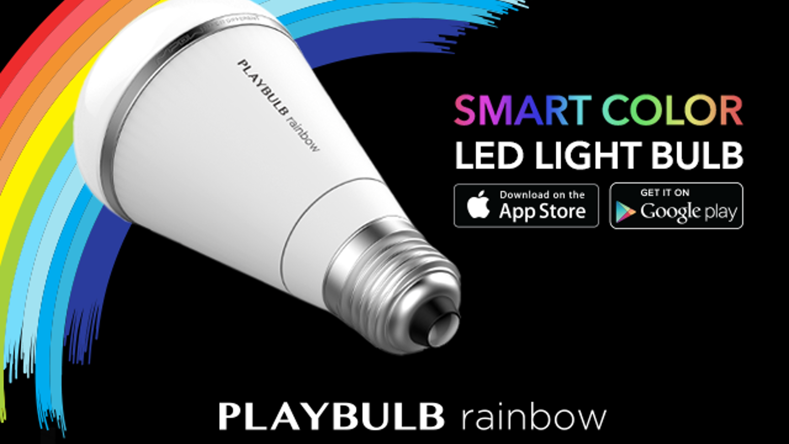 PLAYBULB rainbow is a Stylish, Smart & Money Saving color LED Light Bulb with Mobile App Control. Paint a rainbow at your home.