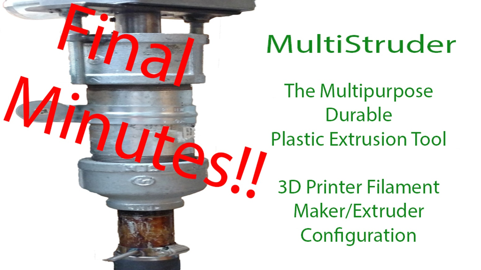 A simple, rugged, expandable, modable, filament extruder and multipurpose fabrication tool.