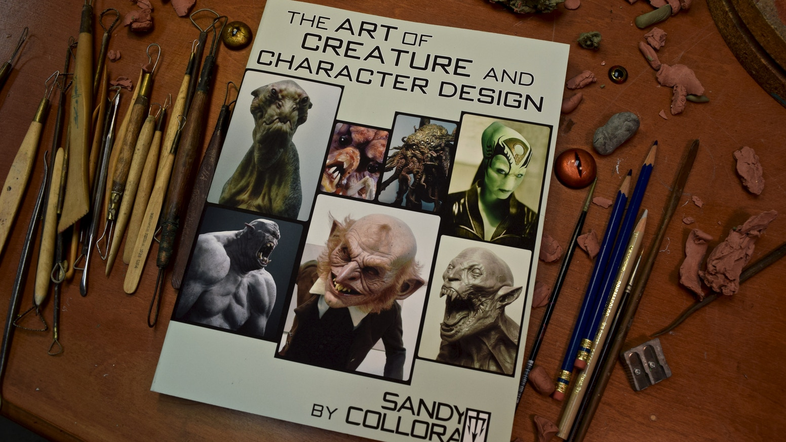 An art book about the style and sensibilities of creature and character design for motion pictures, television, video games and toys.
