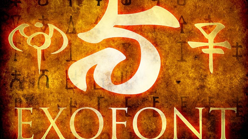 Exofont: Fantasy Gyphs project video thumbnail
