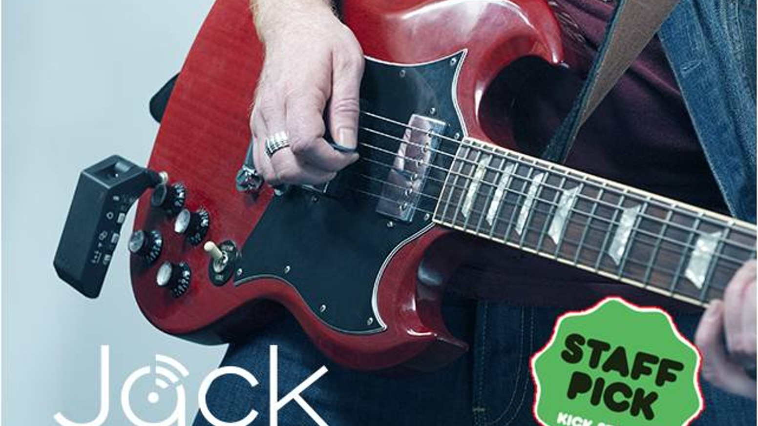 Jack is the first guitar device to stream over Wi-Fi, plug into any guitar  or amp to play wirelessly and connect to PC, Tablet or Phone