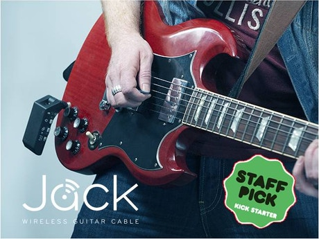 jack the wifi guitar cable by ingenious audio kickstarter. Black Bedroom Furniture Sets. Home Design Ideas