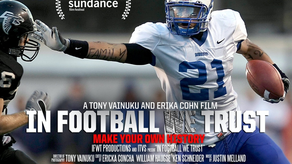 In Football We Trust - a Sundance documentary premiere project video thumbnail