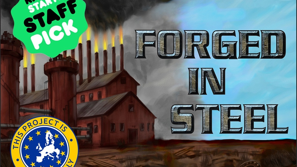 Forged in Steel, a card driven strategy game for 2-4 players project video thumbnail