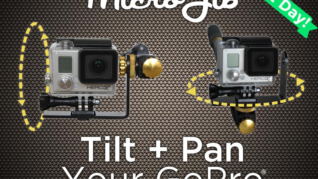 MicroJib- Tilt & Pan Your GoPro® project video thumbnail