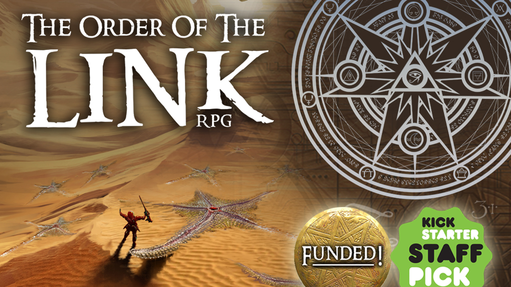 Order of the Link - Interdimensional RPG offering all genres project video thumbnail