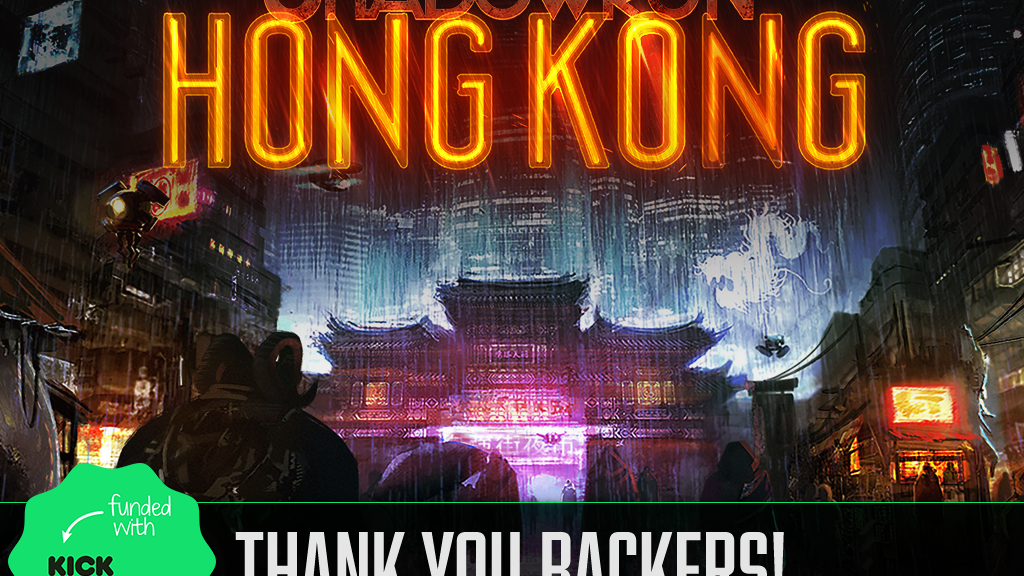Shadowrun: Hong Kong project video thumbnail