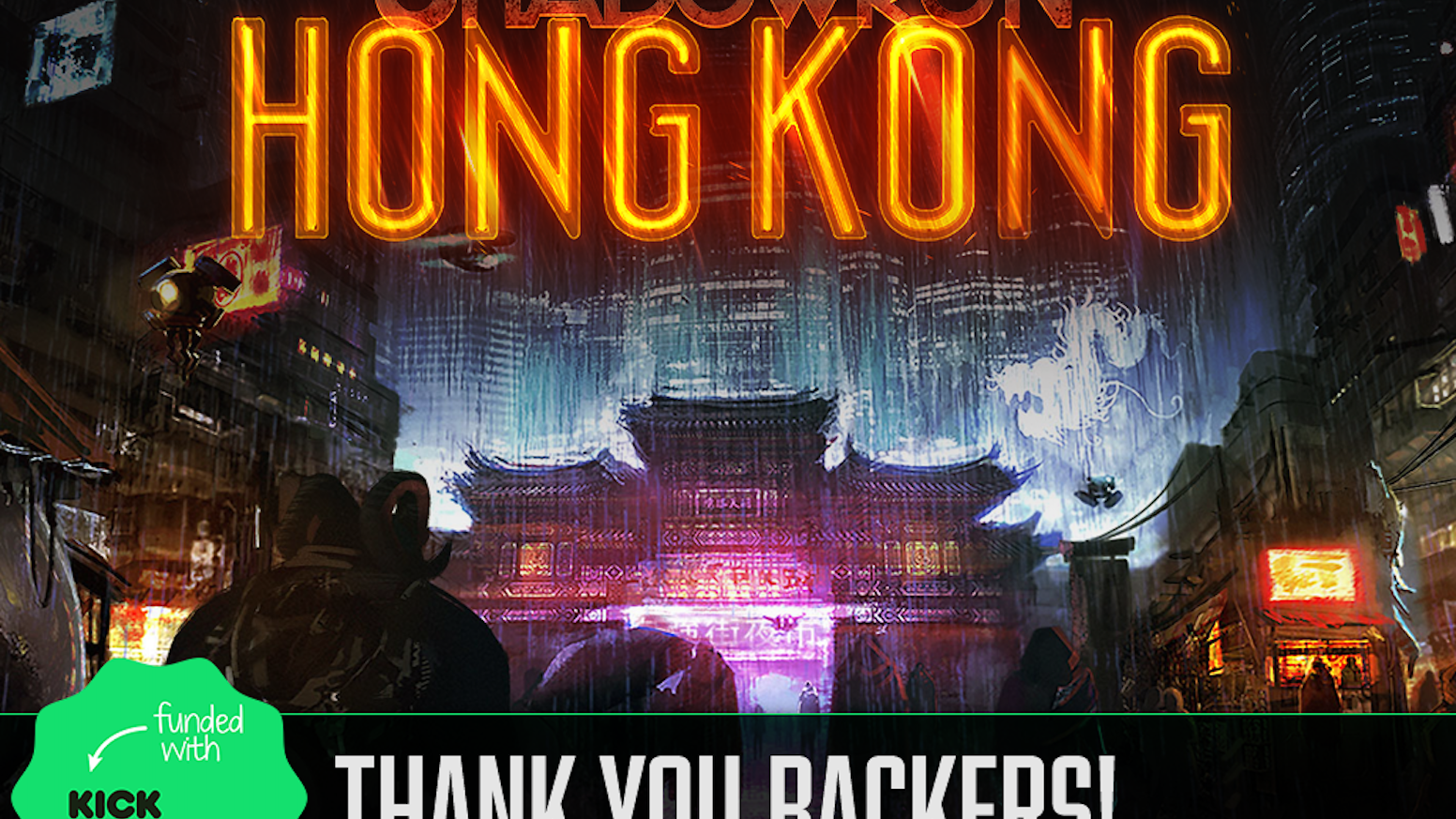 A Shadowrun cyberpunk cRPG set in 2056's Magically Awakened Hong Kong by the developers of Shadowrun Returns & Dragonfall.