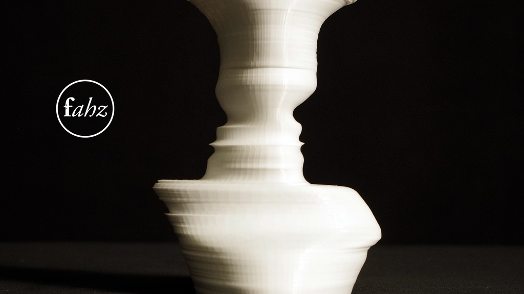 Fahz Its Your Face In A Vase By Nicholas And Martha Desbiens