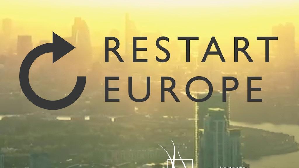 Restart Europe project video thumbnail