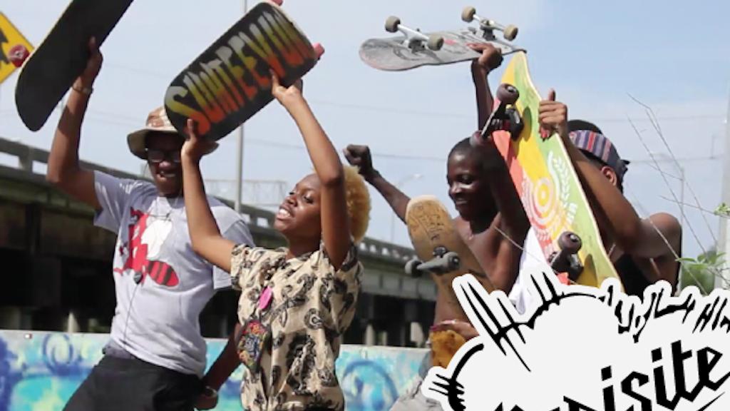 Parisite DIY Skatepark project video thumbnail