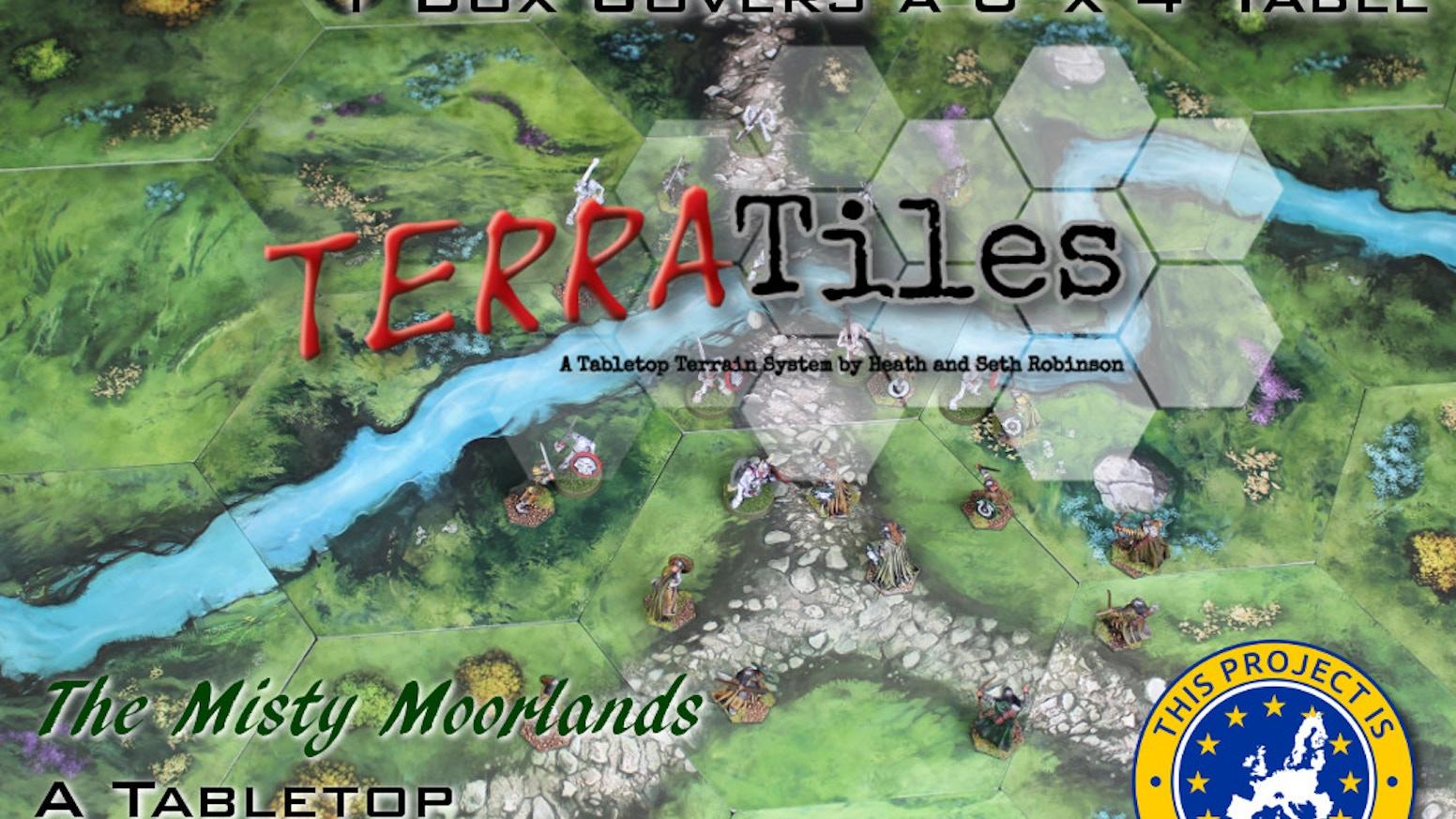 TERRATiles: A Tabletop Terrain System by Heath and Seth Robinson